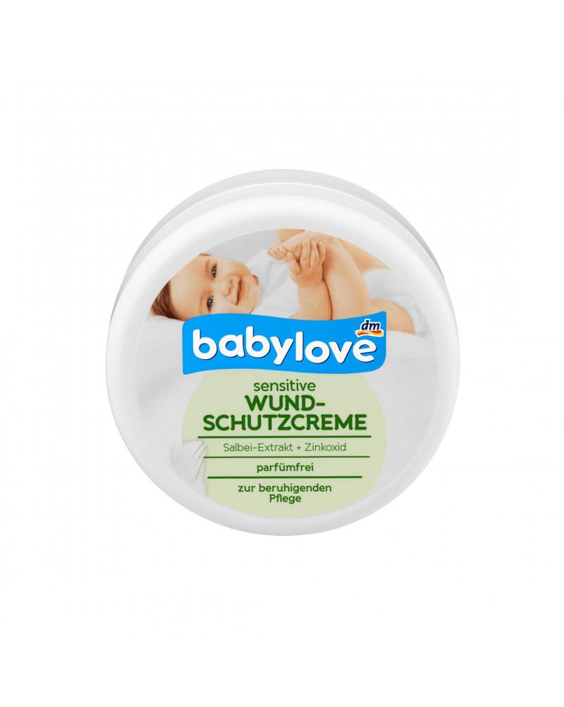 Wundschutzcreme sensitive Крем под подгузник, с экстрактом шалфея, цинком и пантенолом, 150 мл