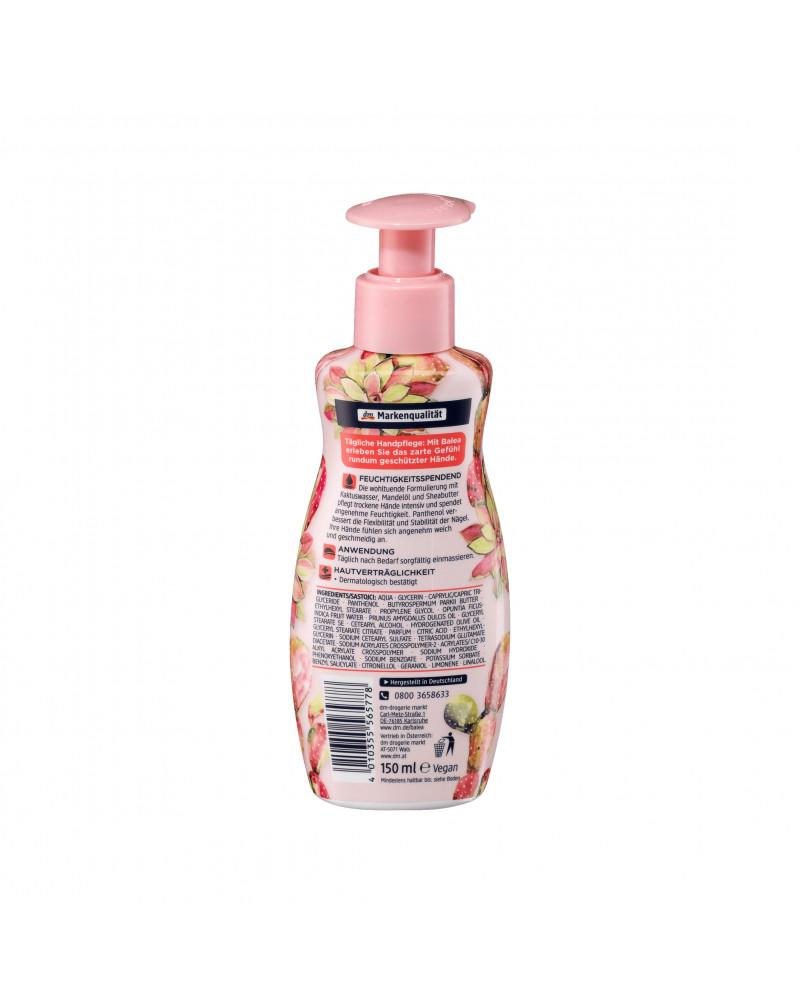 Handmousse Desert Sun Крем-мусс для рук с маслом миндаля, маслом Ши, маслом оливы и экстрактом опунции, 150 мл