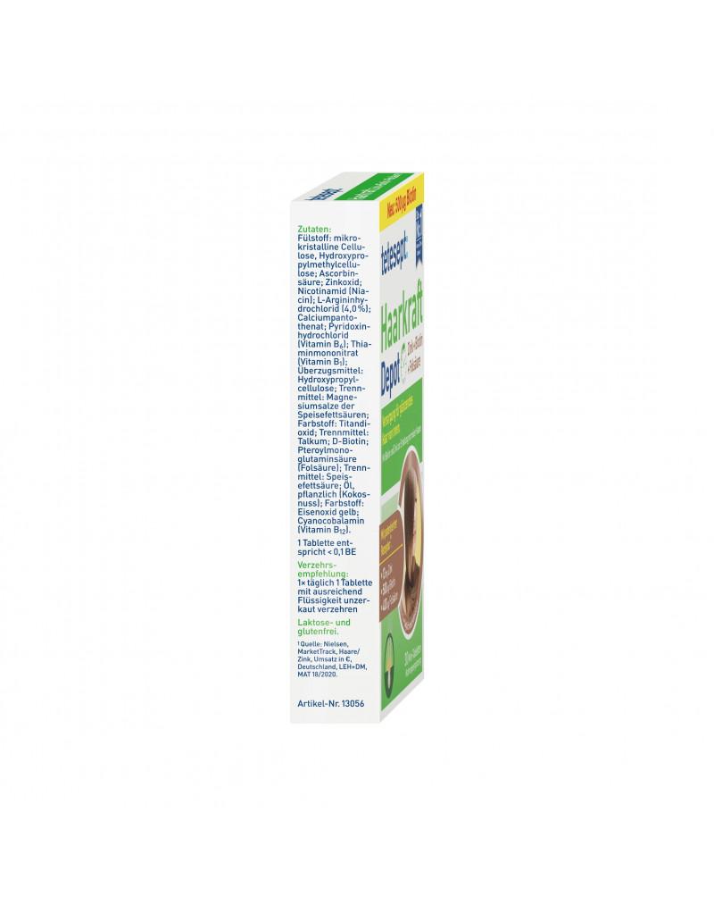 Haarkraft Zink + Biotin + Folsäure Комплекс витаминов для укрепления волос Цинк + Биотин + Фолиевая кислота, 30 шт.