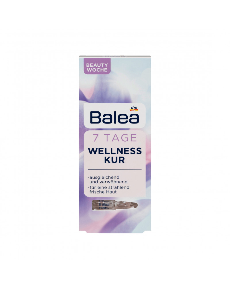 Ampullen 7 Tage Wellness-Kur Курс 7 дней антистресс для лица, 7шт