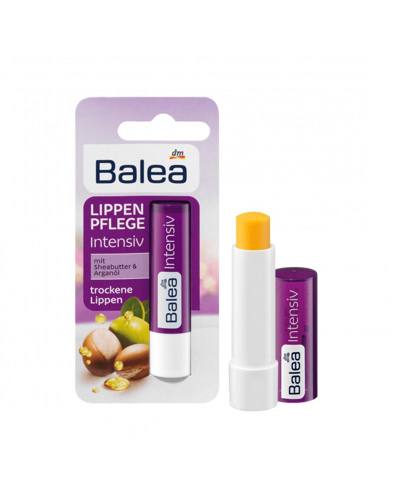 Lippenpflege Intensiv Бальзам для губ с маслом ши, маслом арганы, маслом подсолнуха, 1 шт.