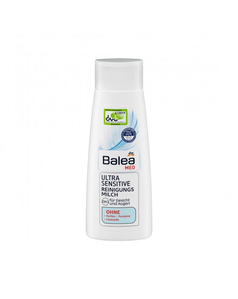 Reinigungsmilch Ultra Sensitive Молочко для снятия макияжа для чувствительной кожи, 200 мл.