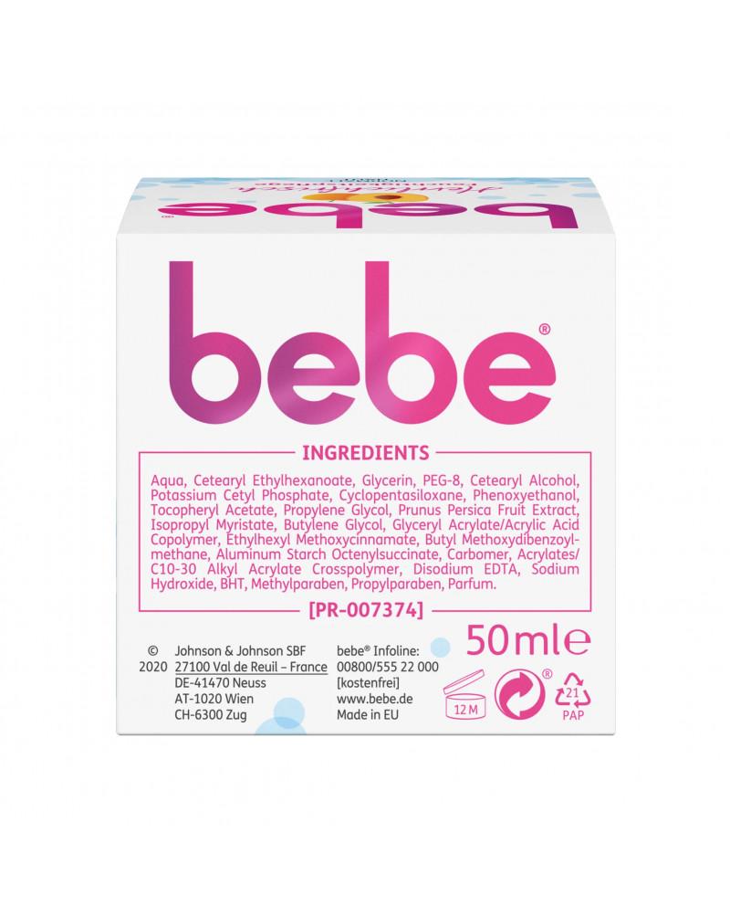 Tagescreme Feuchtigkeit  Дневной крем для лица увлажняющий с экстрактом персика и витамином Е, 50 мл.