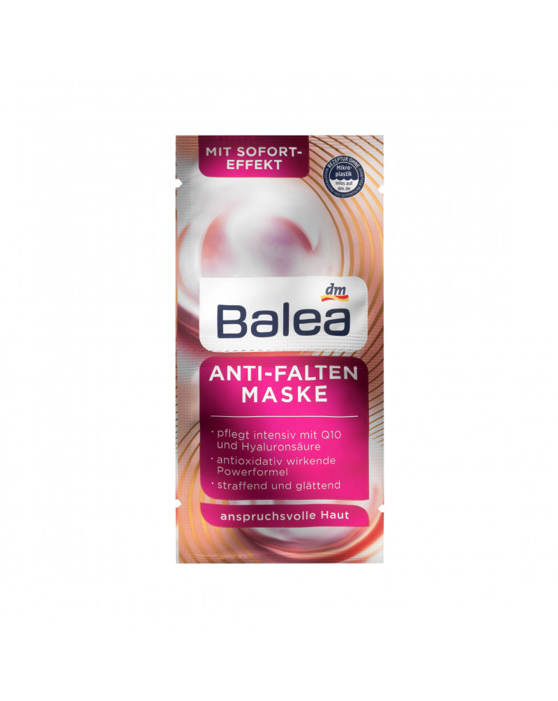 Maske Anti-Falten Маска для лица против морщин с липидами из пассифлоры, дерева ши и витамином Е, 2 x 8 мл