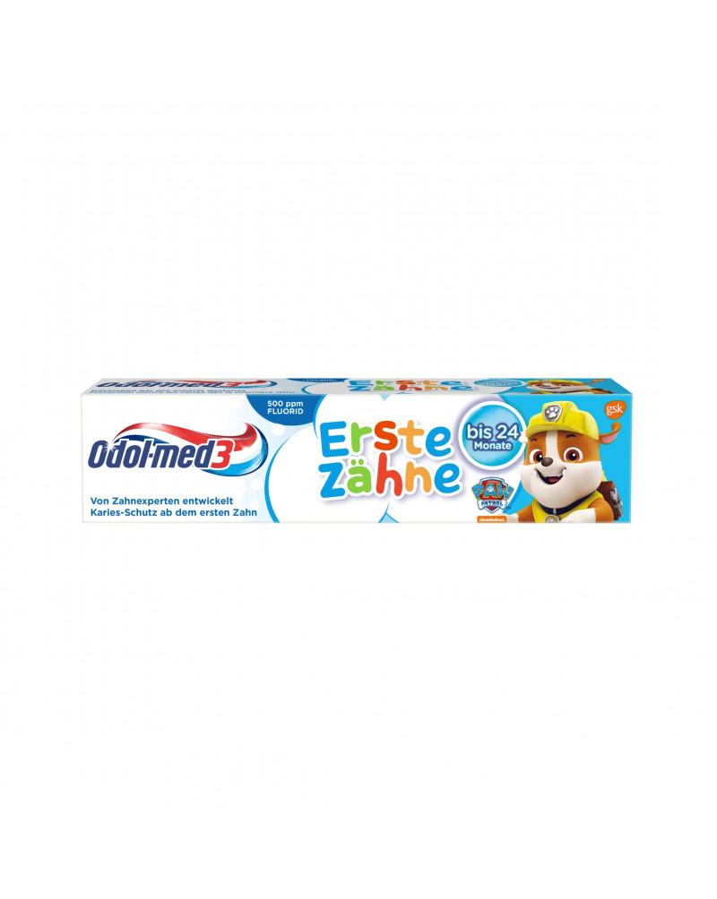 Zahnpasta Erste Zähne bis 24 Monate Детская зубная паста от кариеса, 50 мл.