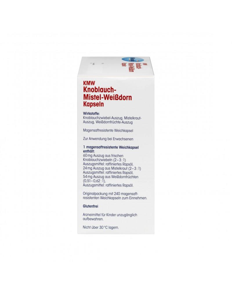 KMW Knoblauch-Mistel-Weißdorn Kapseln Капсулы чеснок-омела-боярышник, 240 шт.