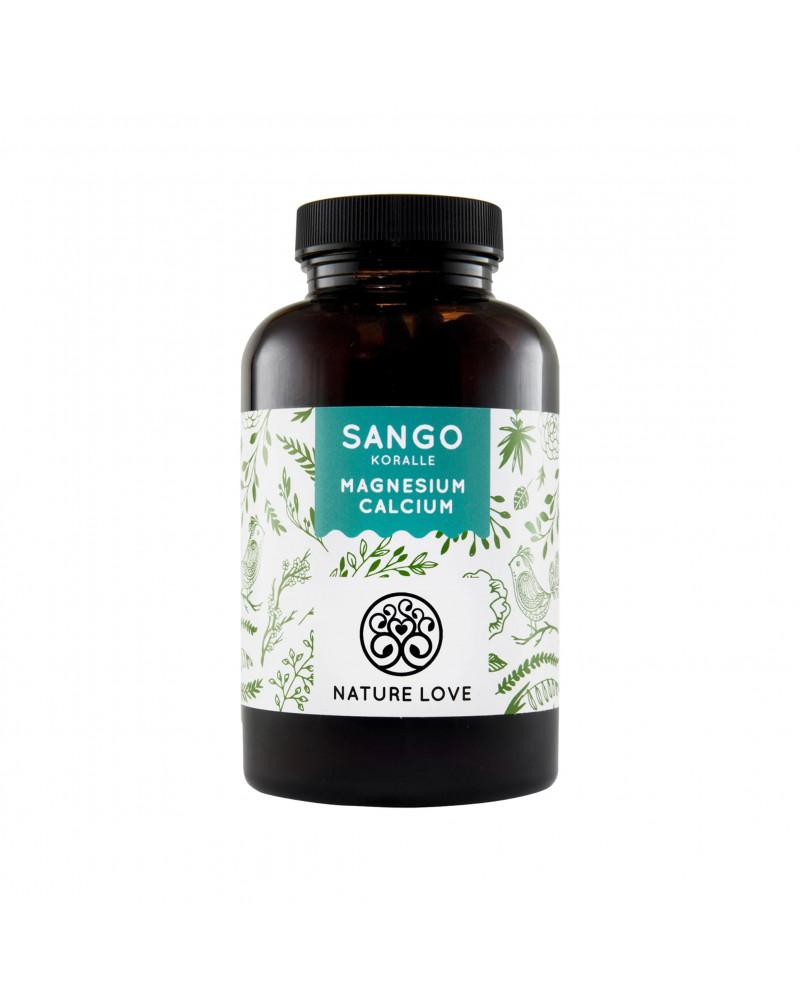 Sango Meereskoralle (Calcium + Magnesium) Kapseln Капсулы с морскими кораллами Санго ( кальций +магний), 180 Шт.