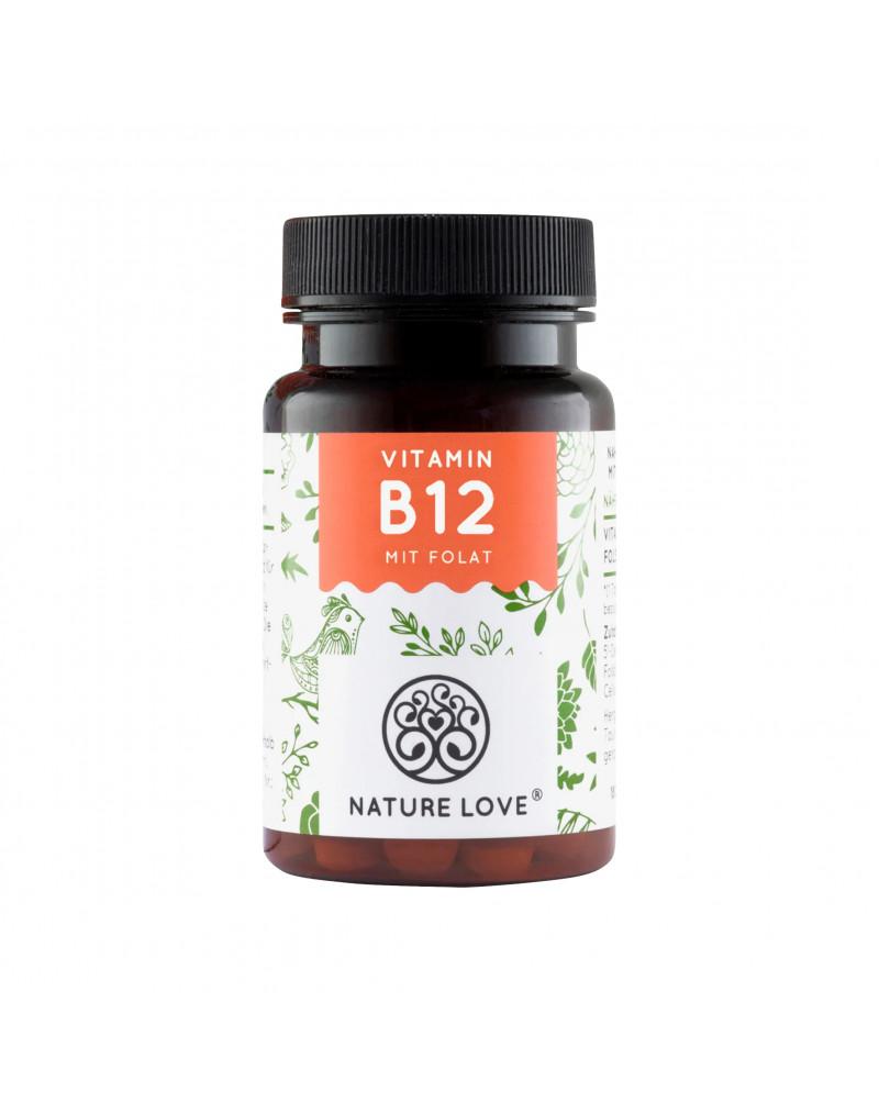 Vitamin B12 1000 mcg Tabeletten Капсулы с витамином В12, 180 Шт.
