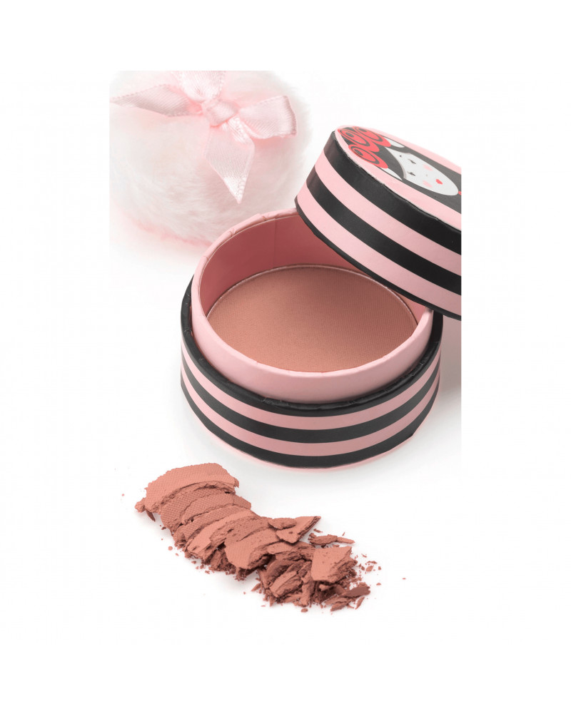 Rouge Matt-Troschka Blush 010 Румяна матовые Rosa 010, 0,3 г