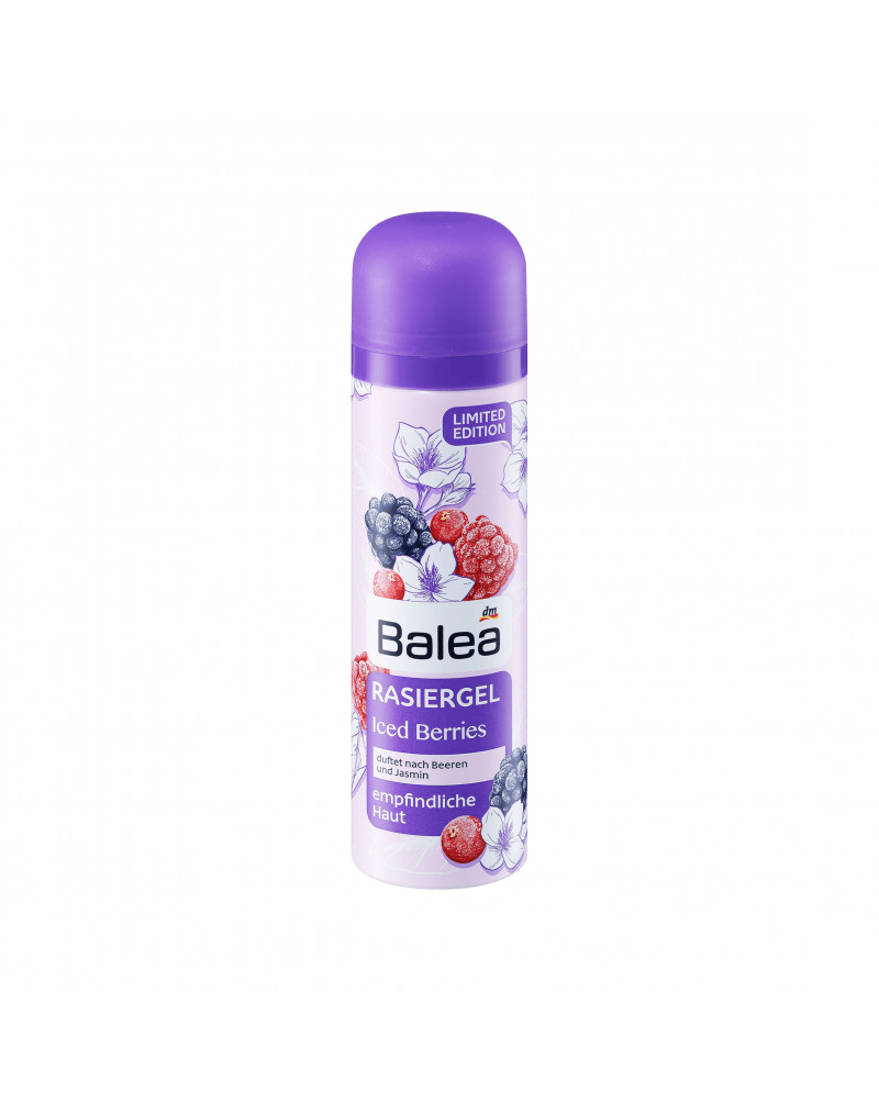 Rasiergel Iced Berries Гель для бритья для чувствительной кожи экстрактом алоэ вера, 150 мл