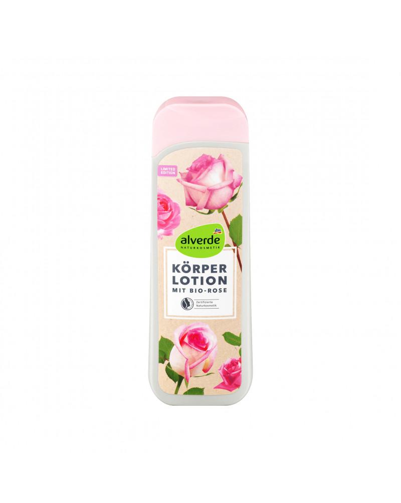 Körperlotion Bio-Rose Лосьон для тела с экстрактом лепестков розы, маслом Ши, маслом оливы, витаминами Е и С, 250 мл
