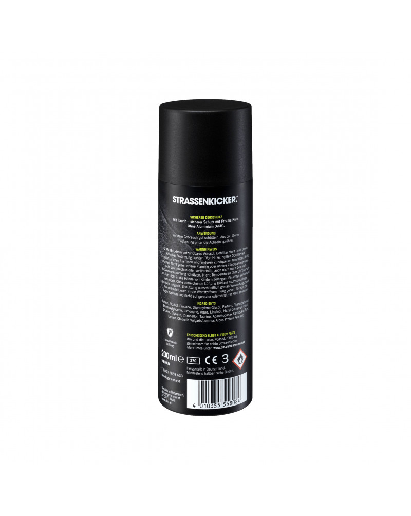 Deo Spray Deodorant Kraftpaket Дезодорант-антиперспирант Kraftpaket с таурином, 200 мл