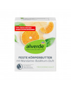 Feste Körperbutter - Mandarine, Basilikum Твердое масло для тела со вкусом мандарина, базилика, 40 гр