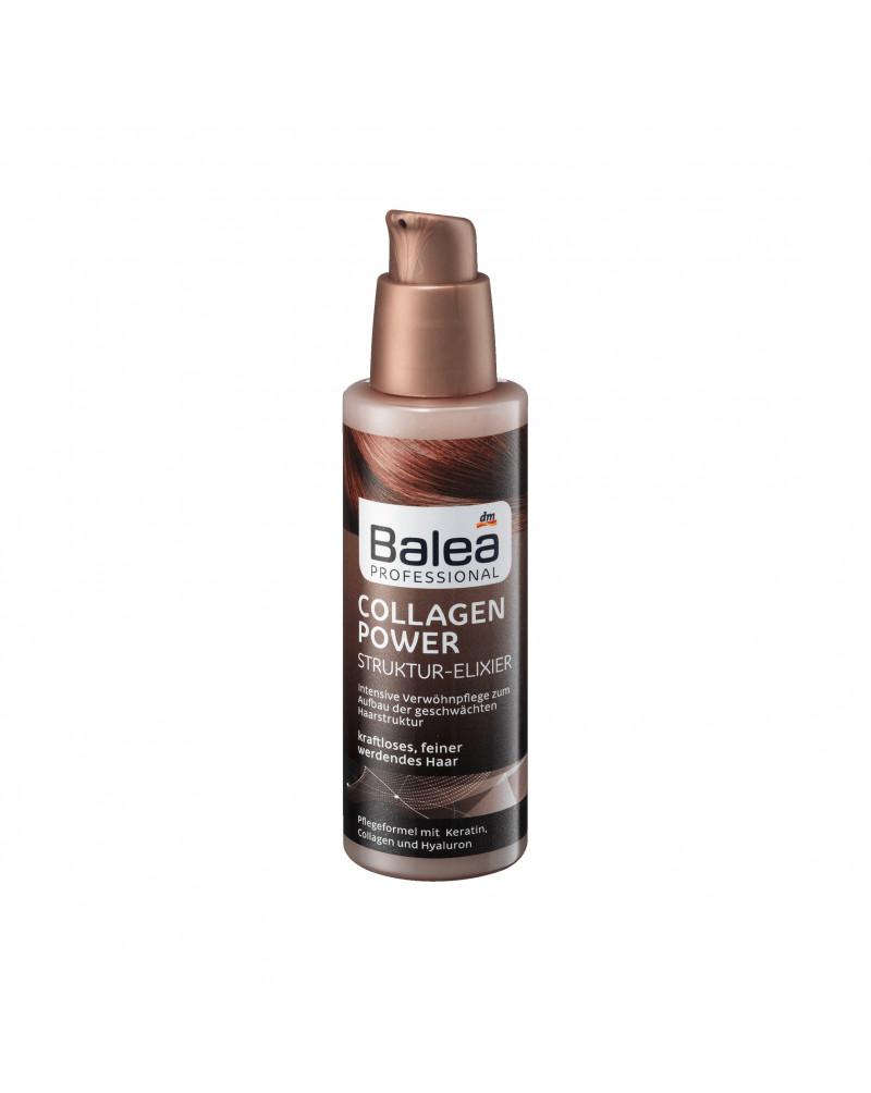Collagen Power Struktur-Elixier Масло для волос с кератином, коллагеном и протеином пшеницы, 100 мл