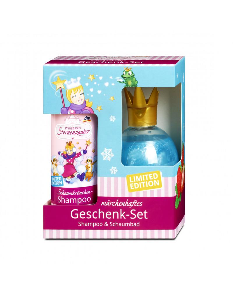 Marchenhaft Geschenk-Set Подарочный набор для девочек, шампунь для волос + пена для ванны.