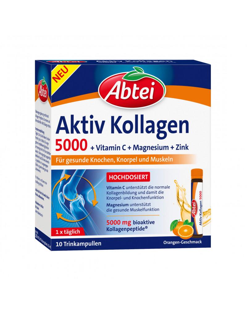 Aktiv Kollagen 5000 Питьевые ампулы с активным коллагеном, 10 шт, 250 мл.