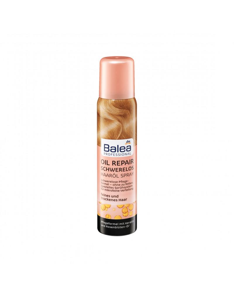 Haarölspray Oil Repair Schwerelos Масло для волос с экстрактом шиповника, кератином, масло арганы и подсолнуха, 100 мл