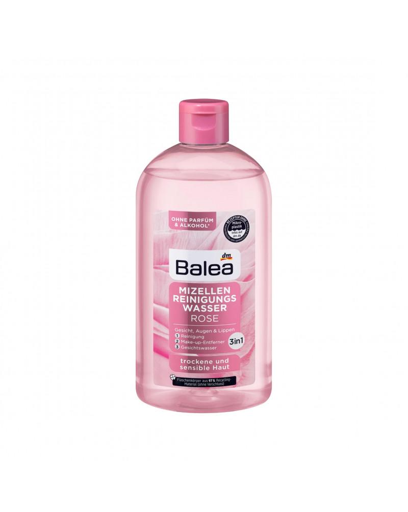 Mizellen Reinigungswasser Rose  Мицеллярная вода для снятия макияжа с экстрактом розы, 400 мл