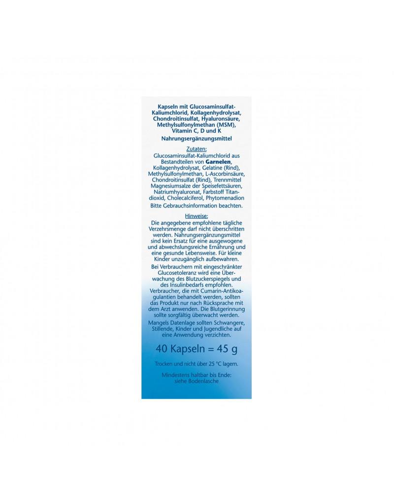 Gelenk 1450 Kapseln Капсулы для суставов с коллагеном и гиалуроновой кислотой, 40 штук, 45 гр.