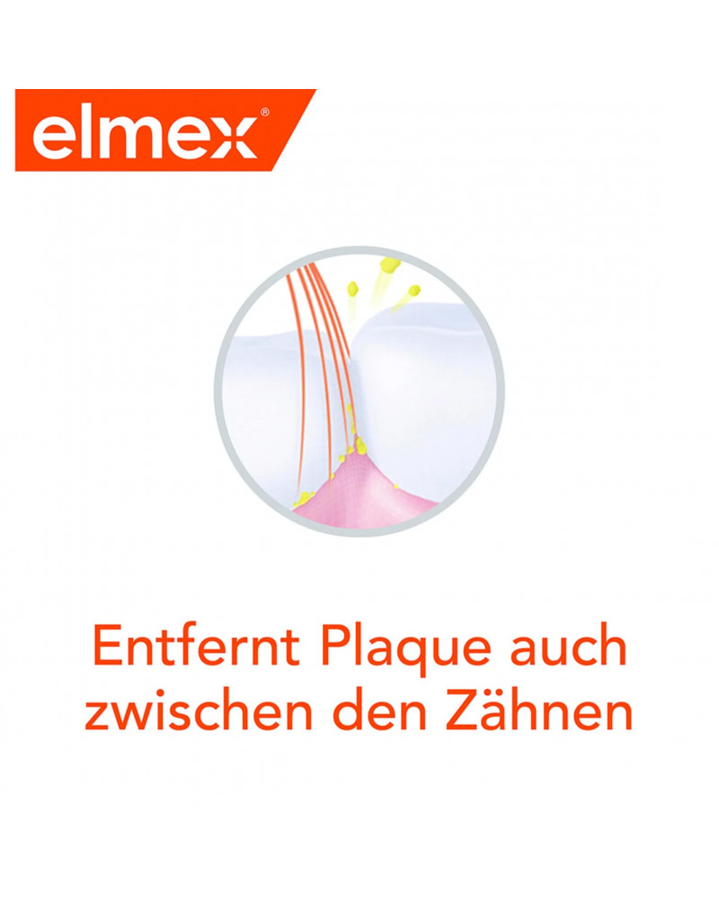 Zahnbürste Interdental mittel Зубная щетка для чистки труднодоступных межзубных промежутков, средней жесткости, 1 шт.