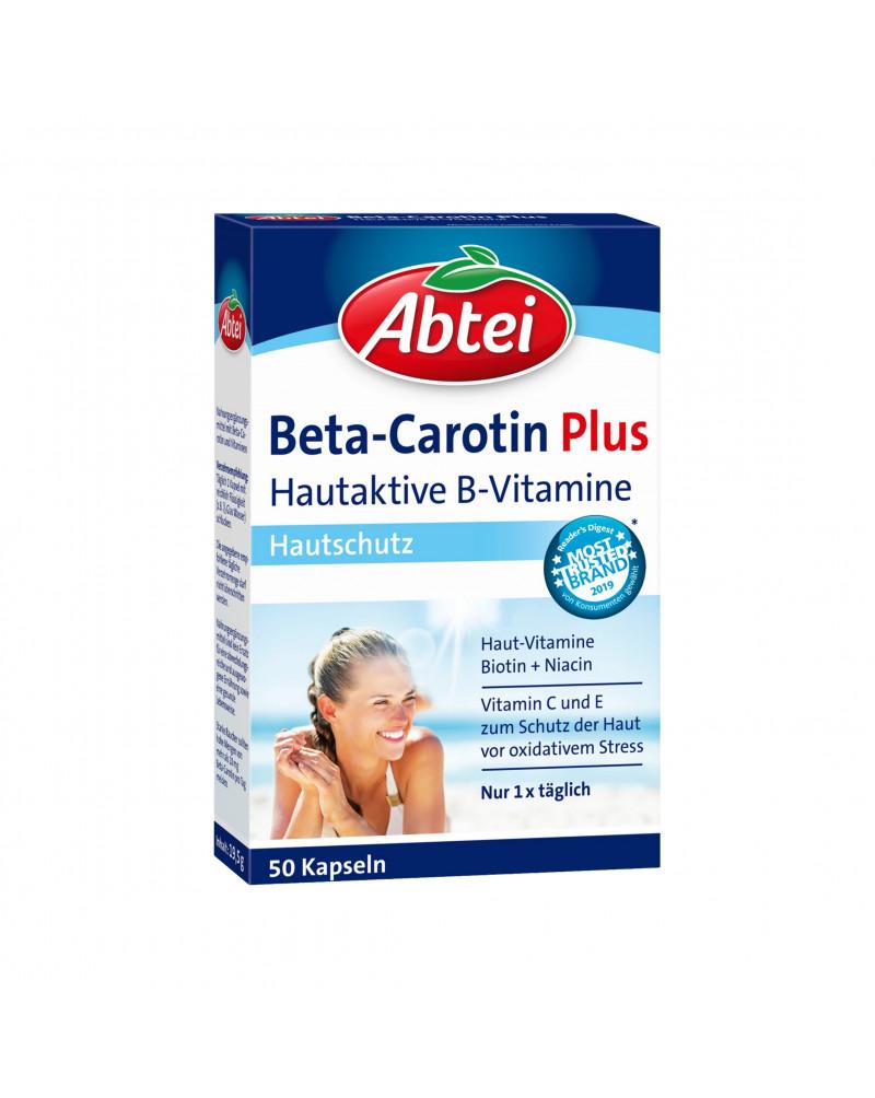 Beta Carotin Plus Kapseln Бета Каротин Плюс в капсулах 50 штук, 19,5 гр.