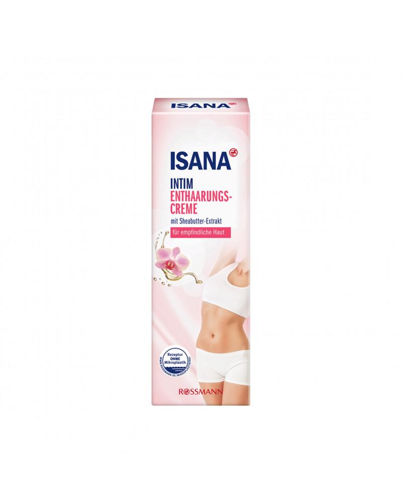 ISANA Intim-Enthaarungscreme Крем для депиляции с маслом ши, 100 мл.