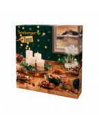 Adventskalender mit Nüssen & Trockenobst (24 Portionen) Адвент-календарь с орехами и сухофруктами (24 порции), 485 гр.