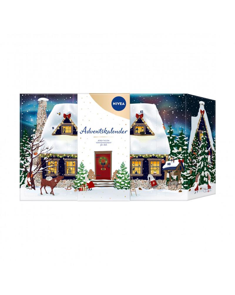 Adventskalender 2022 - Haus im Schnee Адвент-календарь 2022 - Дом на снегу