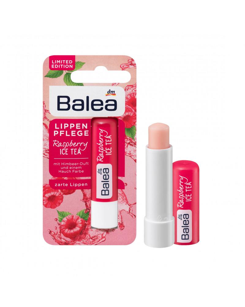 Lippenpflege Raspberry Ice Tea Бальзам для губ с маслом Ши, жожоба и подсолнуха, 4,8 гр
