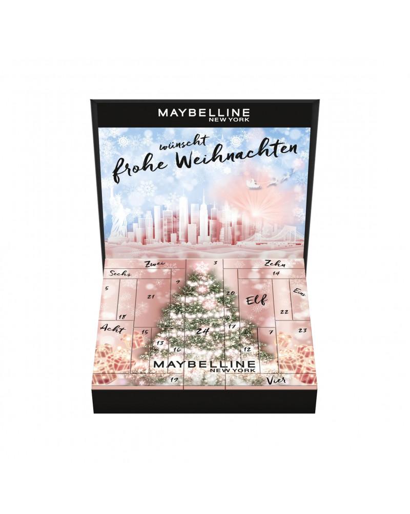 Adventskalender Maybelline 2022 Адвент-календарь Maybelline 2022