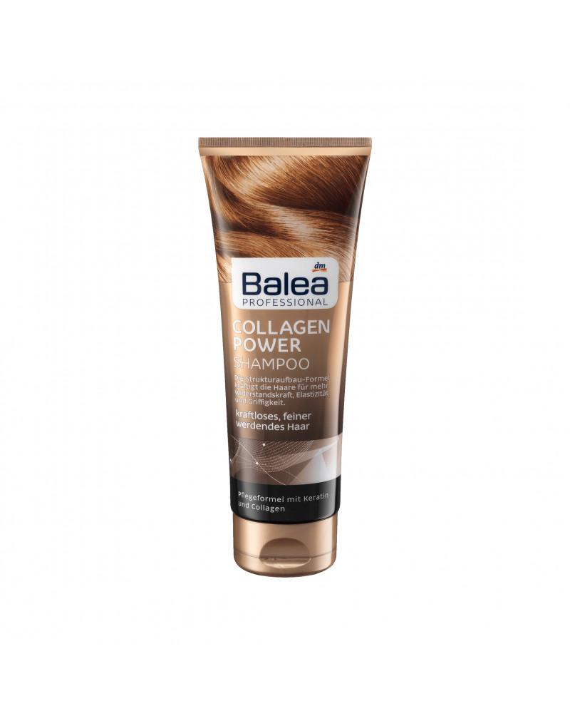 Shampoo Collagen Power Шампунь для тонких и ломких волос с кератином и коллагеном, 250 мл