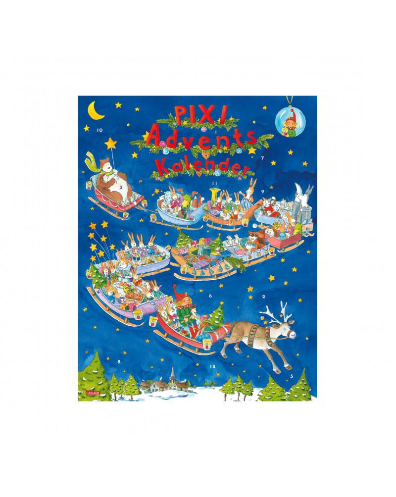 Pixi Adventskalender 2022 - 24 x Lesespaß Новогодний календарь Pixi на 2022 год - 24 часа чтения