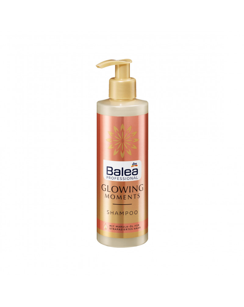 Shampoo Glowing Moments Шампунь для сухих и поврежденных волос с маслом марулы, 250 мл