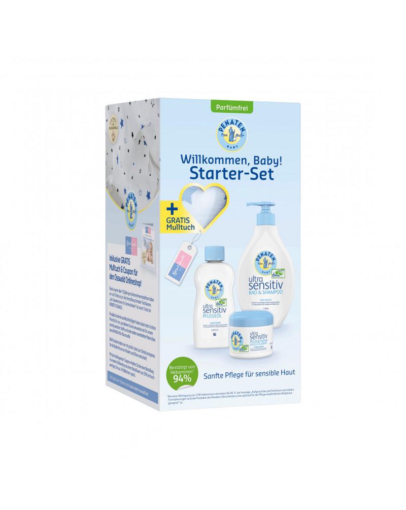 Penaten Ultra Sensitiv Starter-Set Подарочный набор для  детей со сверхчувствительной кожей