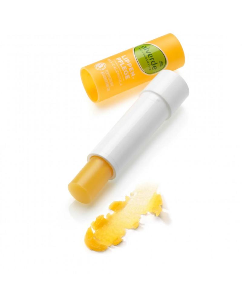 Lippenbalsam Calendula Бальзам для губ с экстрактом календулы, маслом кокоса и жожоба, 4,8 гр.