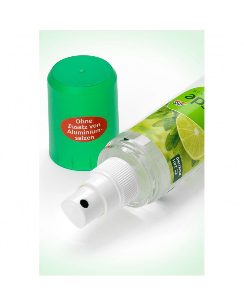 Deo Zerstäuber Deodorant Limette Salbei Дезодорант парфюмированный с экстрактом шалфея, эфирным маслом кедра и маслом пальмарозы, 75 мл