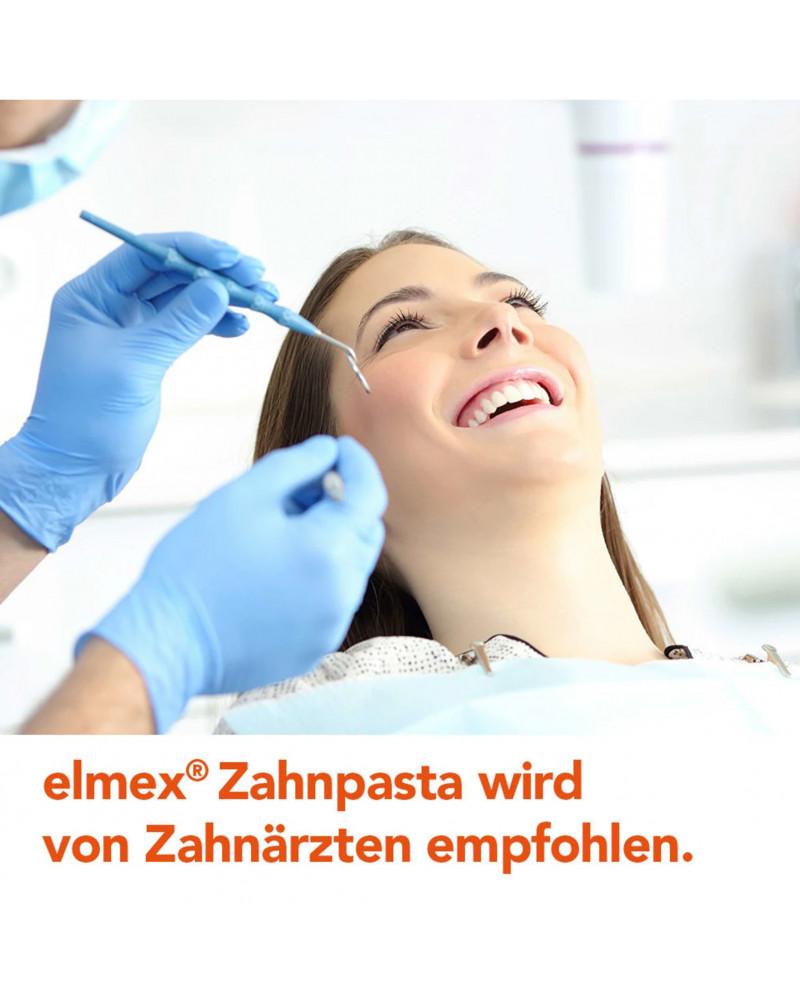 Zahnpasta Kariesschutz Зубная паста с фторидом амина для защиты от кариеса, 75 мл.