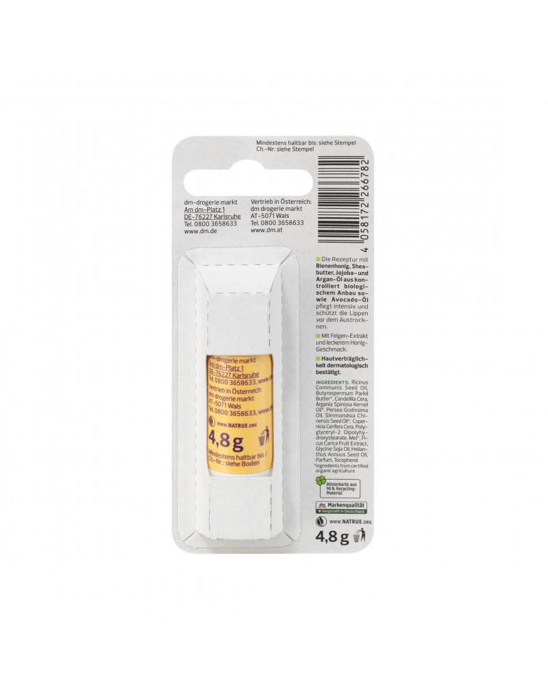 Lippenpflege Feige Honig Бальзам для губ с пчелиным медом, масло ши, жожоба и аргана, 4,8 гр.