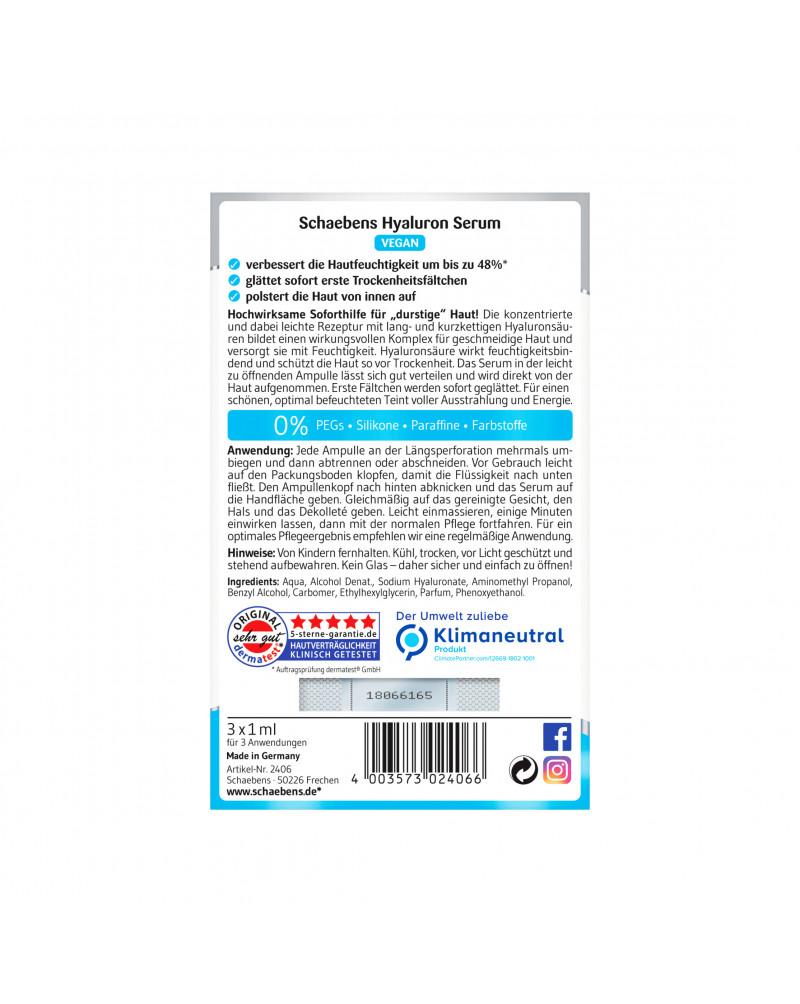 Serum Hyaluron Сыворотка с гиалуроновой кислотой, 3 шт.