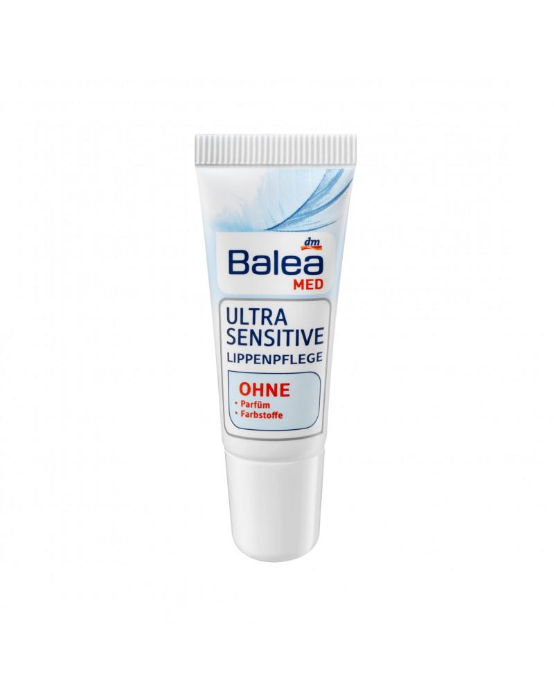 Lippenpflege Ultra Sensitive Бальзам для ухода за чувствительными губами, 9 мл.