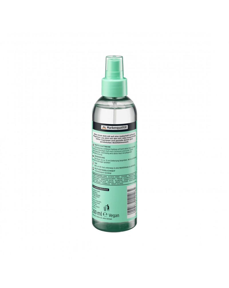 Bodyspray Caribbean Feelings Спрей для тела с пантенолом и аллантоином, 200 мл