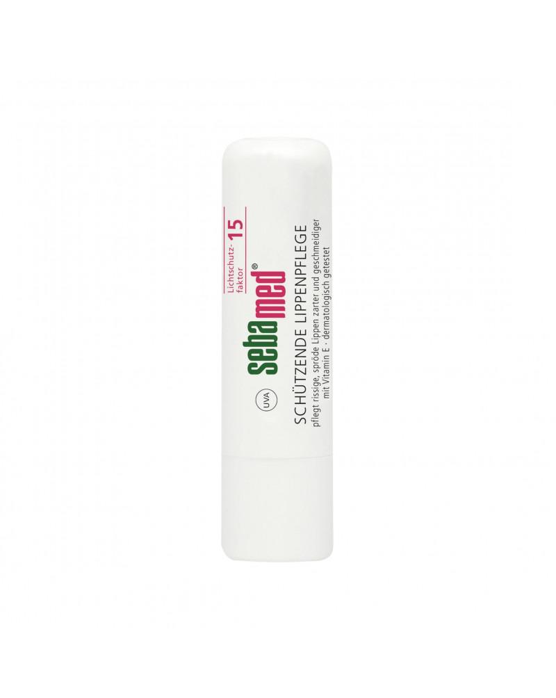 Lippenpflege Schützend Бальзам для ухода за потрескавшимися губами с маслом жожоба, рисовым маслом и витамином Е, 4,8 гр.