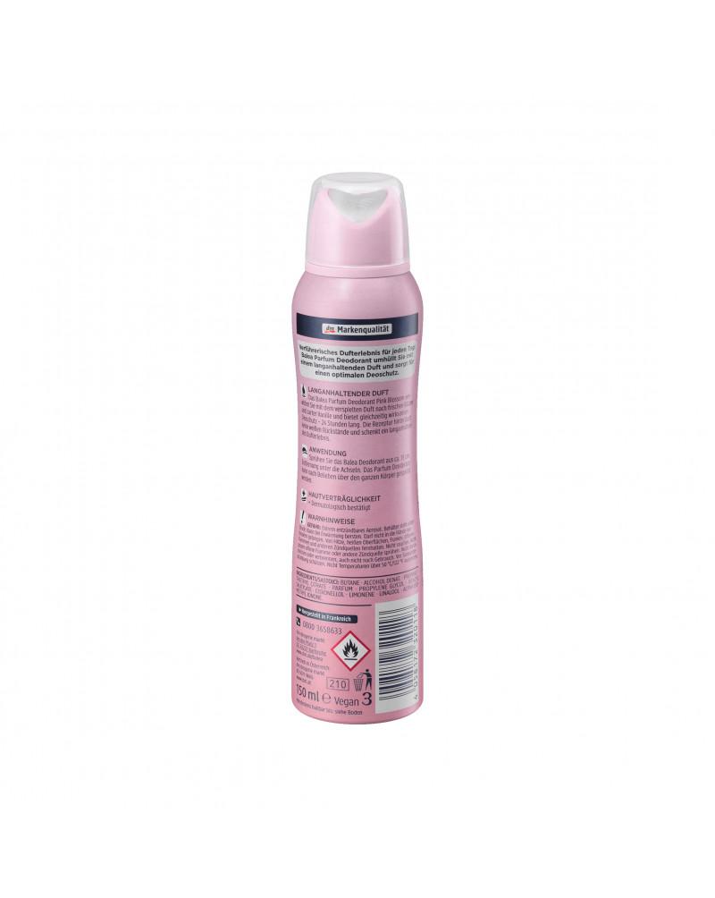 Parfum Deodorant Pink Blossom Дезодорант парфюмированный с  ароматом нежных цветов и ванили, 150 мл