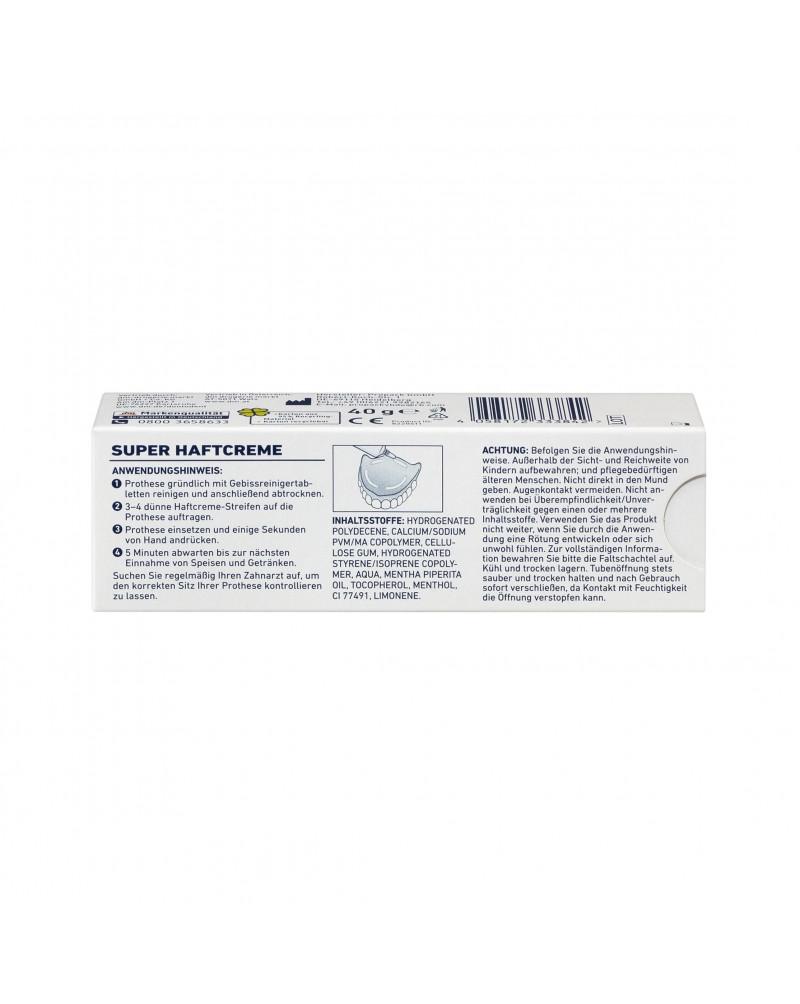 Haftcreme extra stark Крем для фиксации зубных протезов, 40 гр.