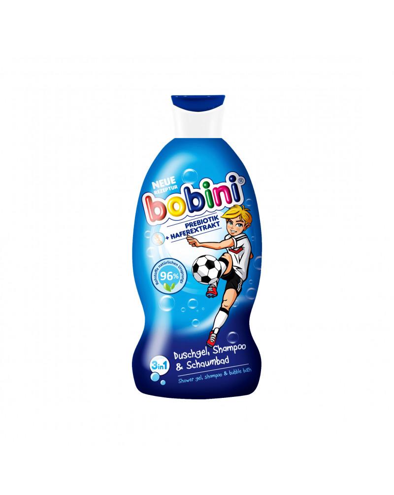 Kids Duschgel, Shampoo & Schaumbad 3in1 Super Kicker Гель для душа, шампунь и пенная ванна 3in1 для мальчиков, с пребиотиком и экстрактом овса, 330 мл