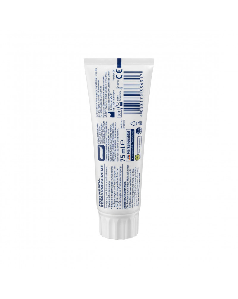 Gebissreiniger-Creme Крем для очистки зубных протезов, 75 мл.