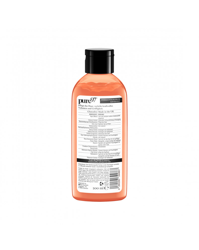 Spülung Volumen Wildrose & Baobab Бальзам для сухих и тонких волос с экстрактом шиповника и ваобаба, 200 мл