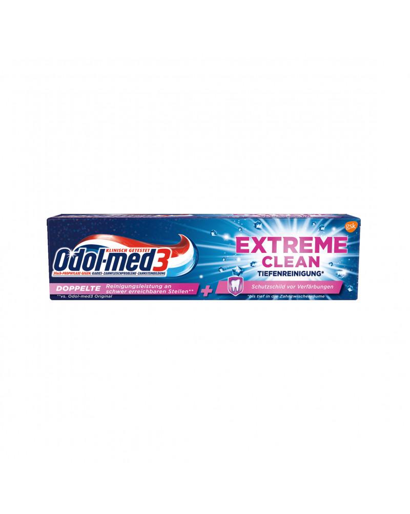 Zahnpasta Extreme Clean Tiefenreinigung Зубная паста для глубокого очищения зубов и защиты эмали, 75 мл
