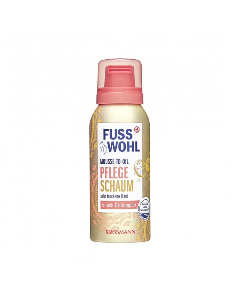 Mousse-to-Oil Pflegeschaum Пенка для ног, 100 мл.