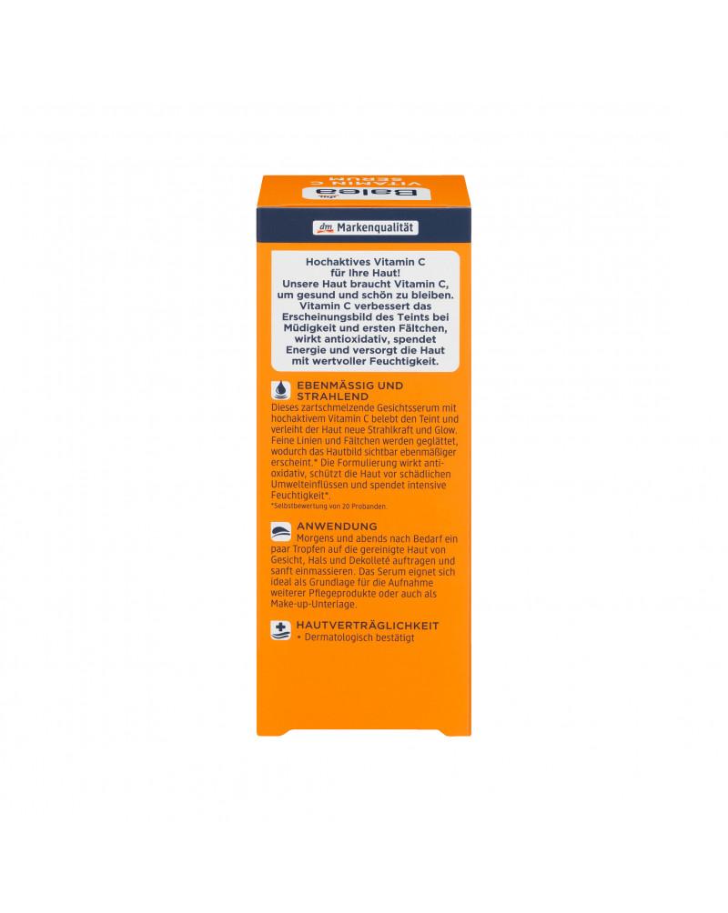 Vitamin C Serum Сыворотка для лица с витамином С, маслом абрикосовой косточки и ацеролой, 30 мл